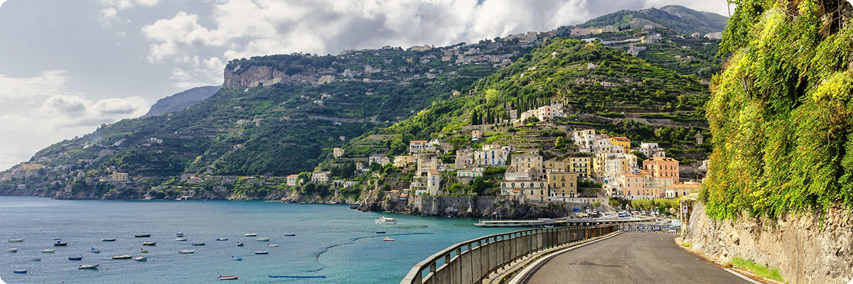 Amalfi Coast in Italy