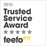 Feefo Trusted Service 2018